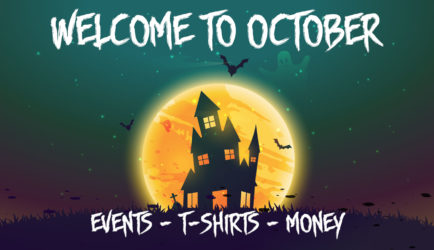 Best T-shirt designs for October with Merch by Amazon