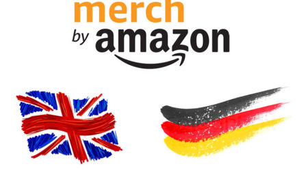Merch by Amazon UK – Germany: New Markets