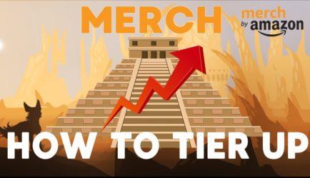 Vài tips tier up nhanh Merch by Amazon